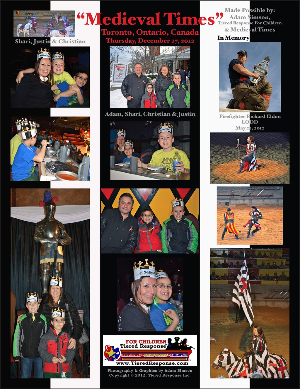 Medieval Times 2012 Collage